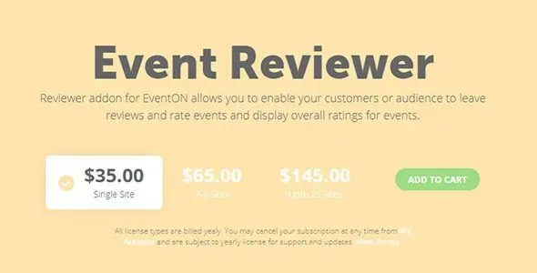 EventON Reviewer