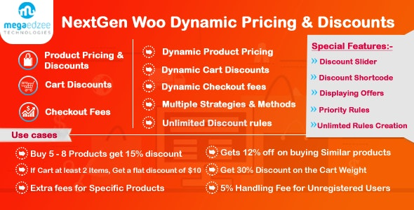WooCommerce Dynamic Pricing and Discounts - NextGen