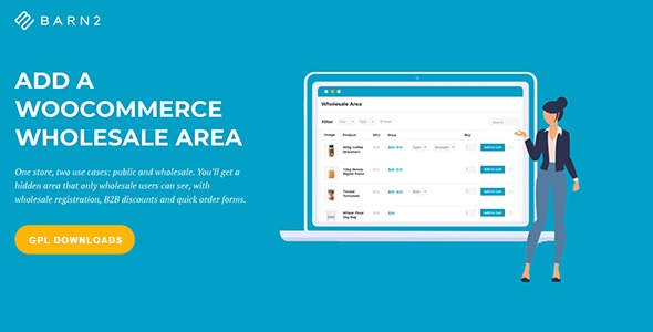WooCommerce Wholesale Pro - By Barn2 Media