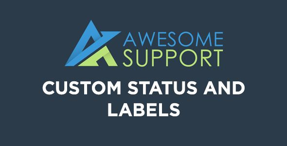 Awesome Support Custom Status And Labels