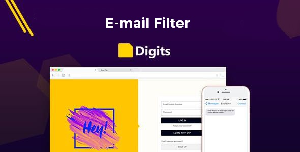 DIGITS: Email Filter