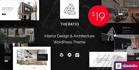 Theratio - Architecture & Interior Design Elementor