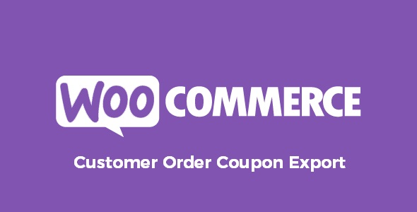 WooCommerce Customer Order Coupon Export