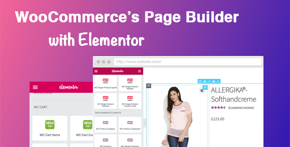 DHWC Elementor - WooCommerce shortcodes & Custom Product page with Elementor