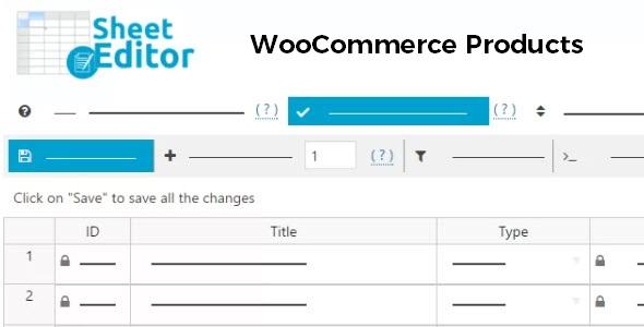 WP Sheet Editor WooCommerce Products - Premium