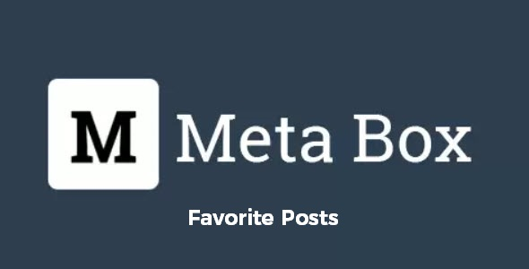 Meta Box Favorite Posts