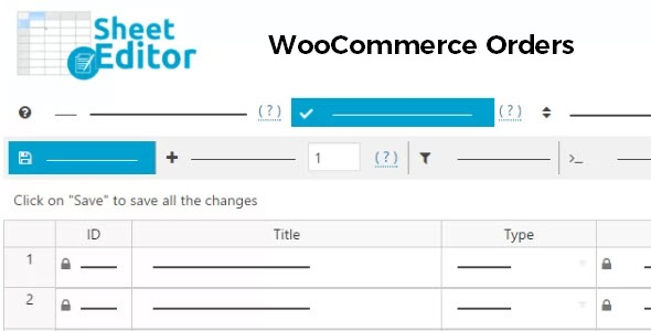 WP Sheet Editor WooCommerce Orders