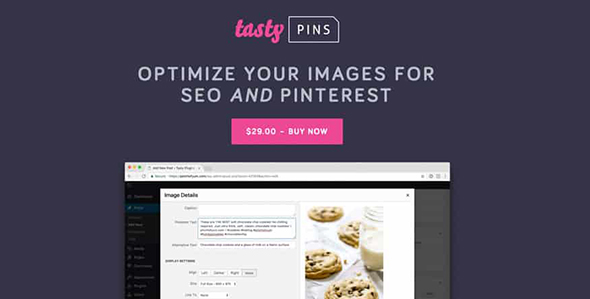 Tasty Pins - Optimize your blog's images