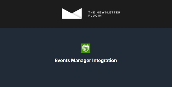 Newsletter Events Manager Integration