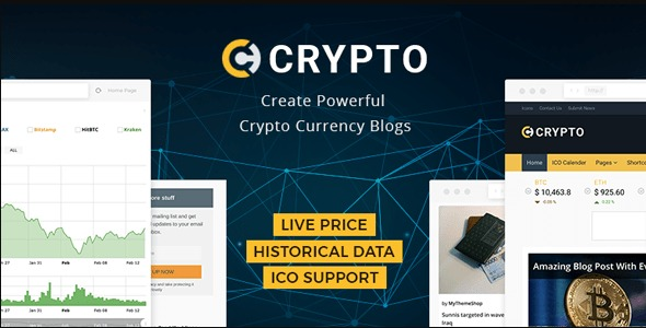 Crypto - MyThemeShop WordPress Theme