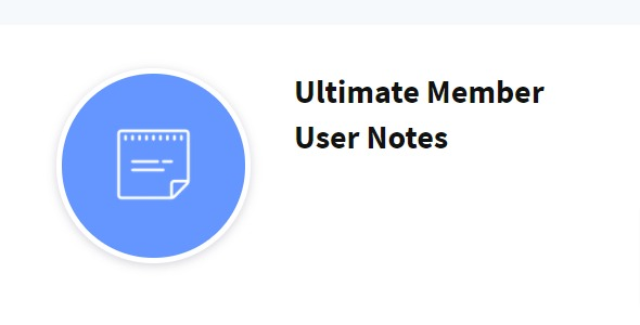 Ultimate Member User Notes