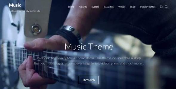 Music - Themify Theme