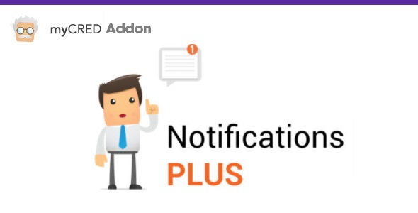 myCred Notifications Plus Add-on