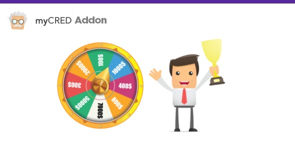 myCred Spin Wheel