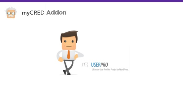 myCred for User Pro