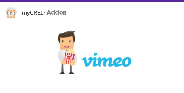 myCred Video Add-on For Vimeo