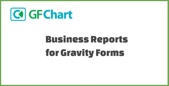 GFChart Business Reports for Gravity Forms