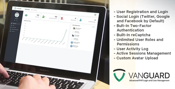 Vanguard - Advanced PHP Login and User Management