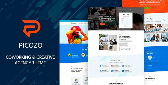 Picozo - Coworking and Office Space WordPress Theme