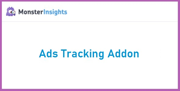 MonsterInsights Ads Tracking Addon