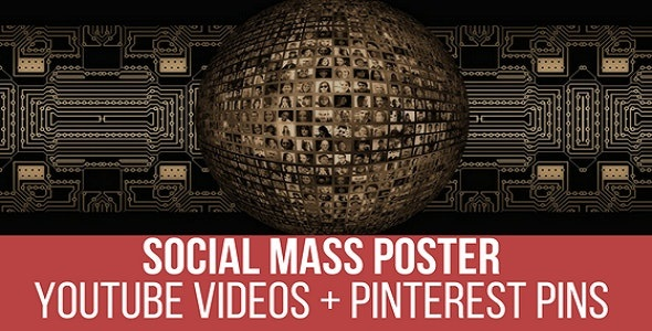YouTube Video Mass Poster and Pinner