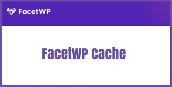FacetWP Cache